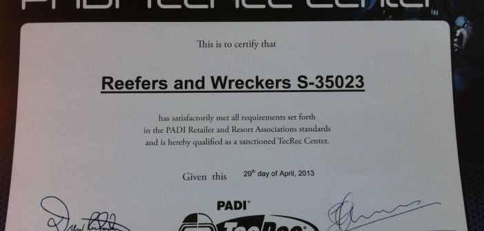 Reefers and Wreckers Tec Rec
