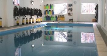 London School of Diving Pool