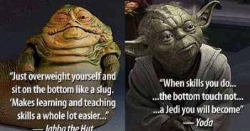 Scuba Training Yoda Style
