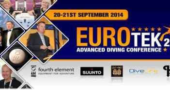 Eurotek 2014 at The Scuba News