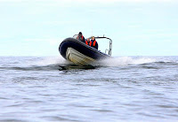 North East Dive's Boat at The Scuba News