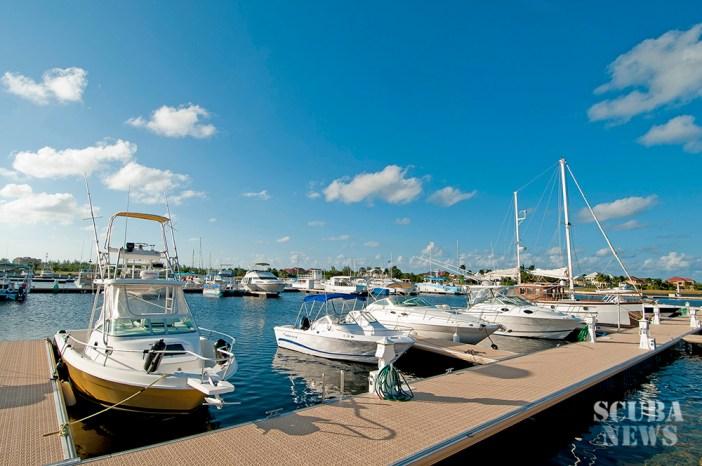Poralu Docks at the Cayman Islands Yacht Club
