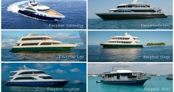 0316 Emperor Maldives boats collage