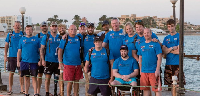 Chairman and Founder of Deptherapy, Dr Richard Cullen, with Programme Members in Egypt. Photo - Dmitry Knyazev for Deptherapy