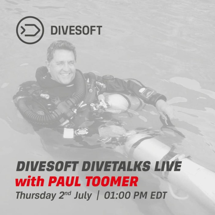 Divesoft Divetalks - Paul Toomer