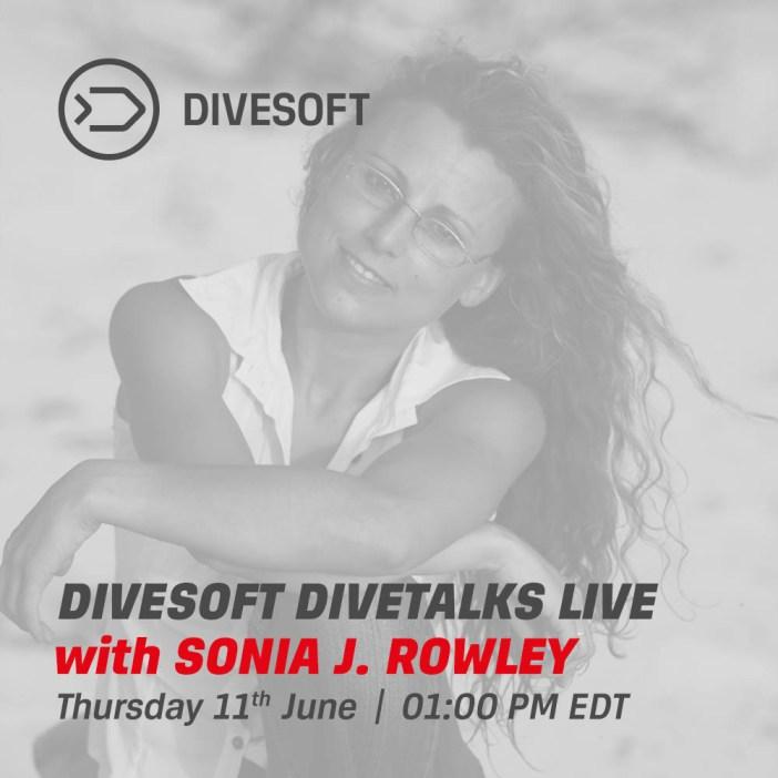 Divesoft DIVETALKS - Sonia Rowley