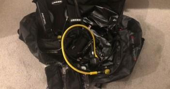 Used Cressi Diving Equipment