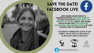 Facebook Live Cristina Zenato