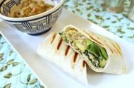 Caesar Salad & Quinoa Grilled Wrap
