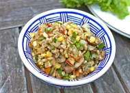Succotash with Fresh Corn & Farro