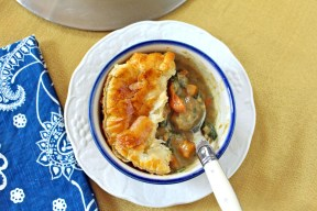 Curry Chicken & Butternut Squash Pot Pie