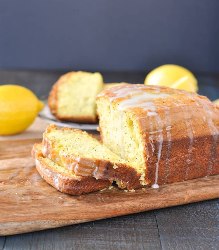 Lemon Poppy Seed Bread With Lemon Cake Mix
