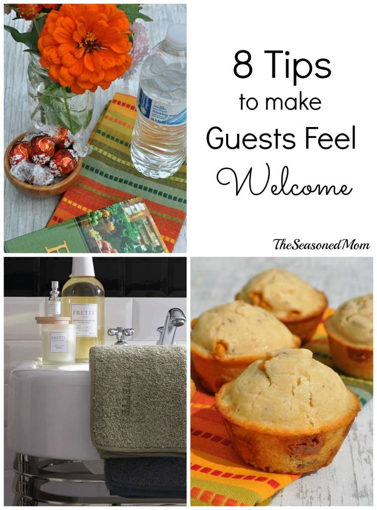 Butterscotch Pecan Muffins + 8 Tips to Make Guests Feel Welcome