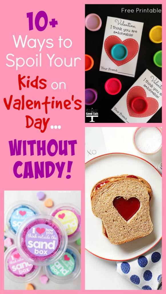 10+ Ways to Spoil Your Kids on Valentine's Day…Without Candy!