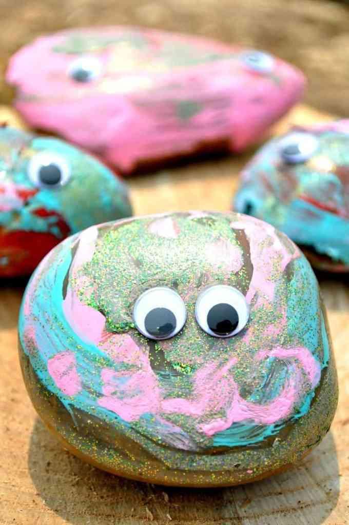 Easy Summer Craft for Kids: Garden Critters