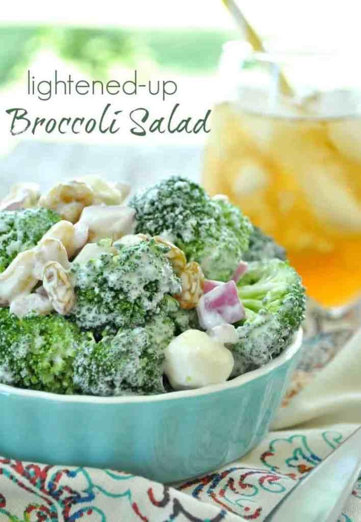 Lightened-Up Broccoli Salad
