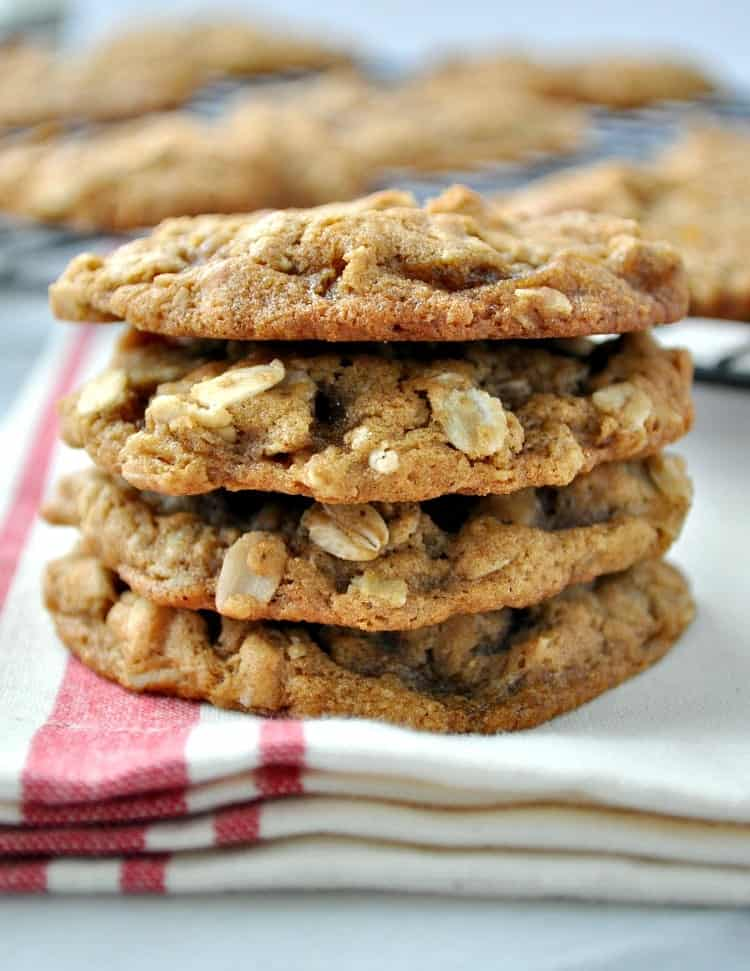 Ginger Oatmeal Cookies 2