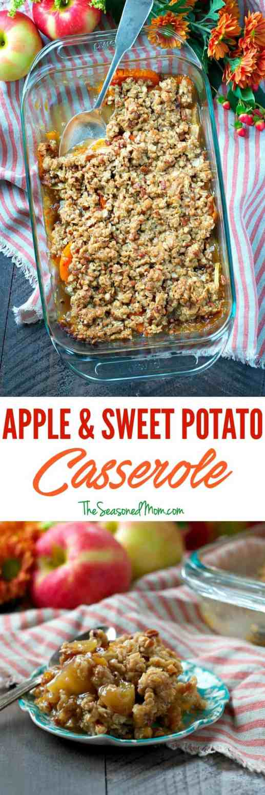 Apple and sweet potato casserole