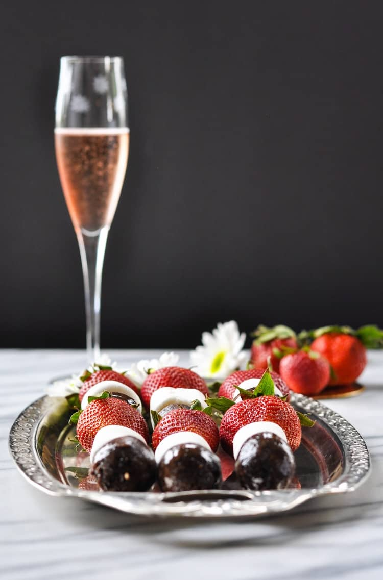 Strawberry Chocolate Donut Kabobs