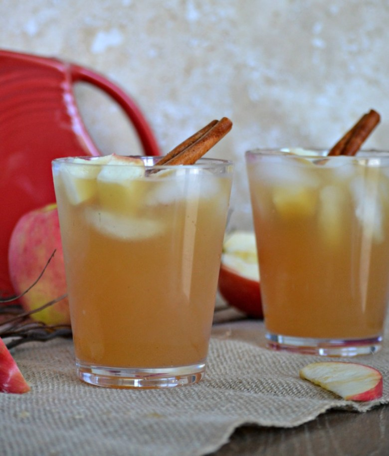 Apple Cider Cocktail with Ginger Beer and Vodka