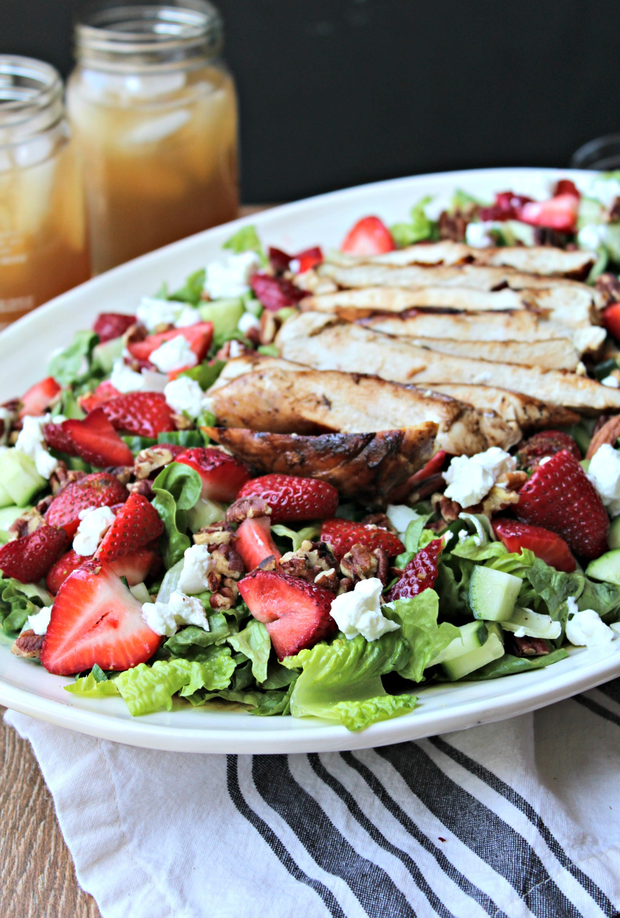 easy salad recipes with chicken