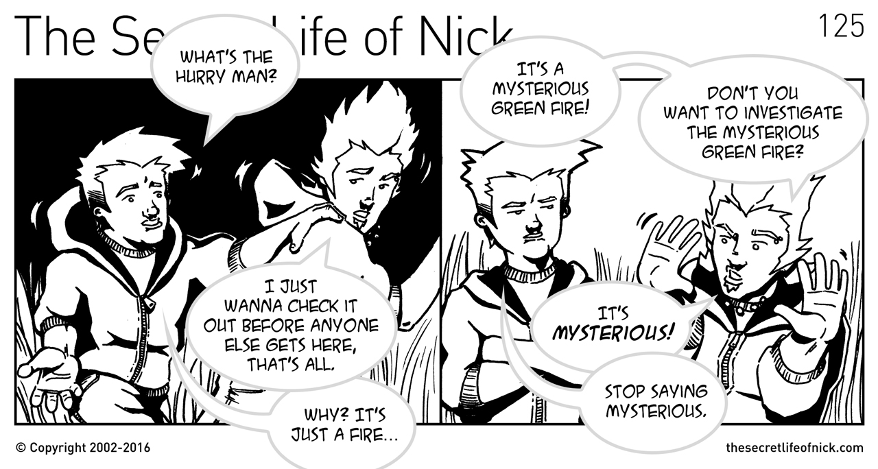 Episode 125: Mysterious - The Secret Life of Nick