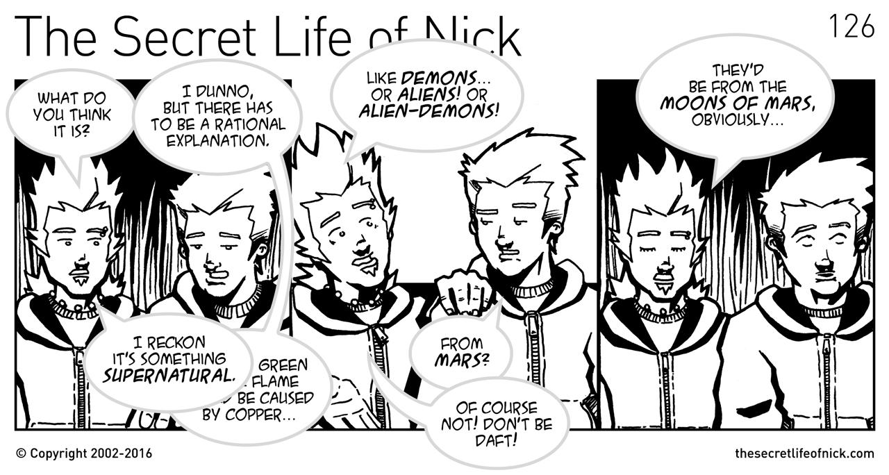 Episode 126: A Rational Explanation - The Secret Life of Nick