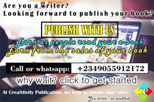 Let help you publish your book (printed and ebook) at very affordable price. CLICK TO CONTACT US