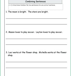 Diagramming Sentences Worksheets With Answers   Printable Worksheets and  Activities for Teachers [ 1660 x 1285 Pixel ]