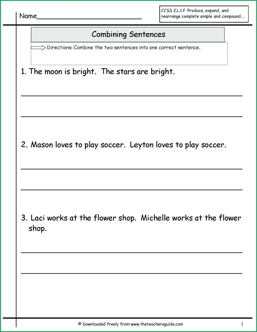 medium resolution of Diagramming Sentences Worksheets With Answers   Printable Worksheets and  Activities for Teachers