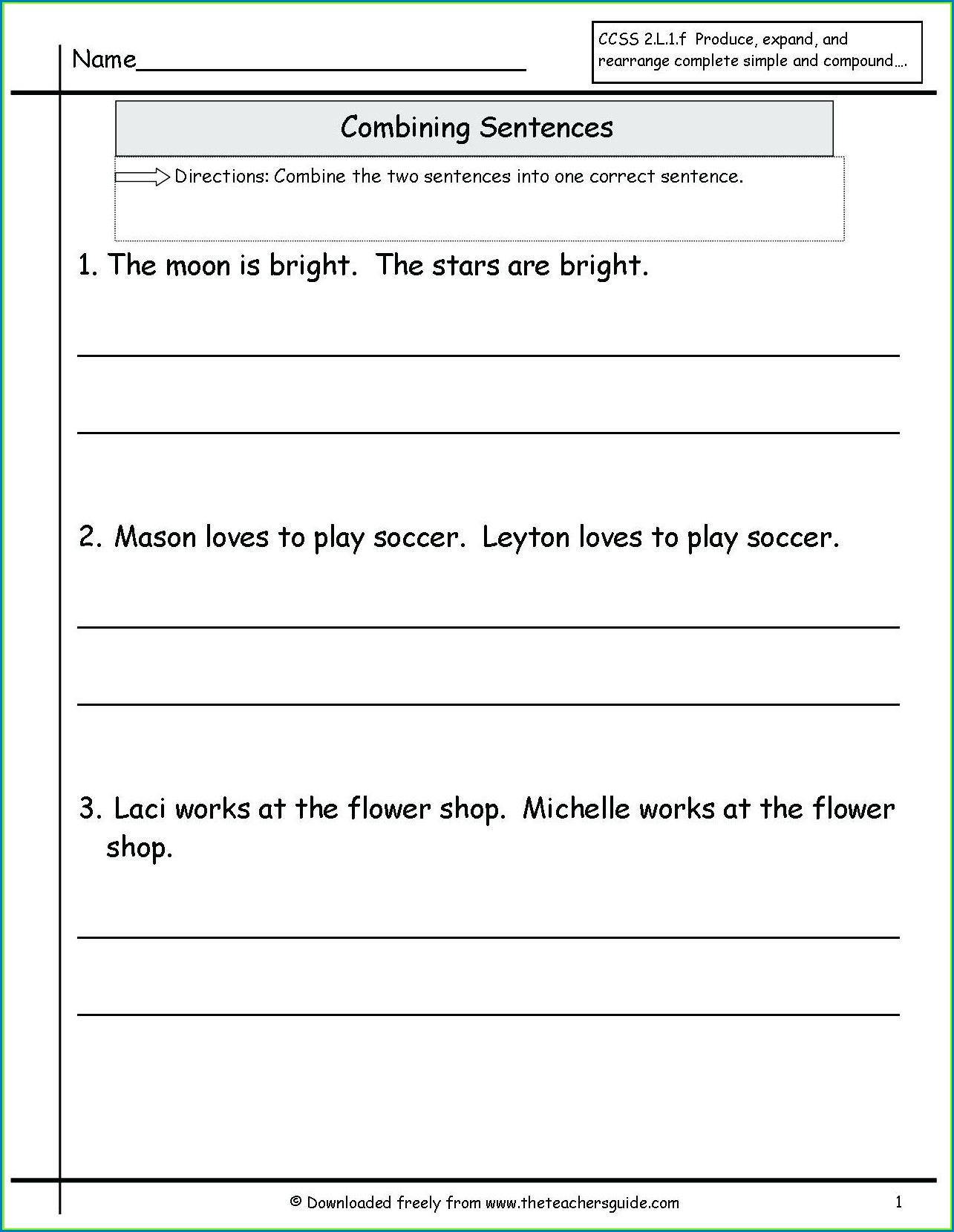 hight resolution of Diagramming Sentences Worksheets With Answers   Printable Worksheets and  Activities for Teachers