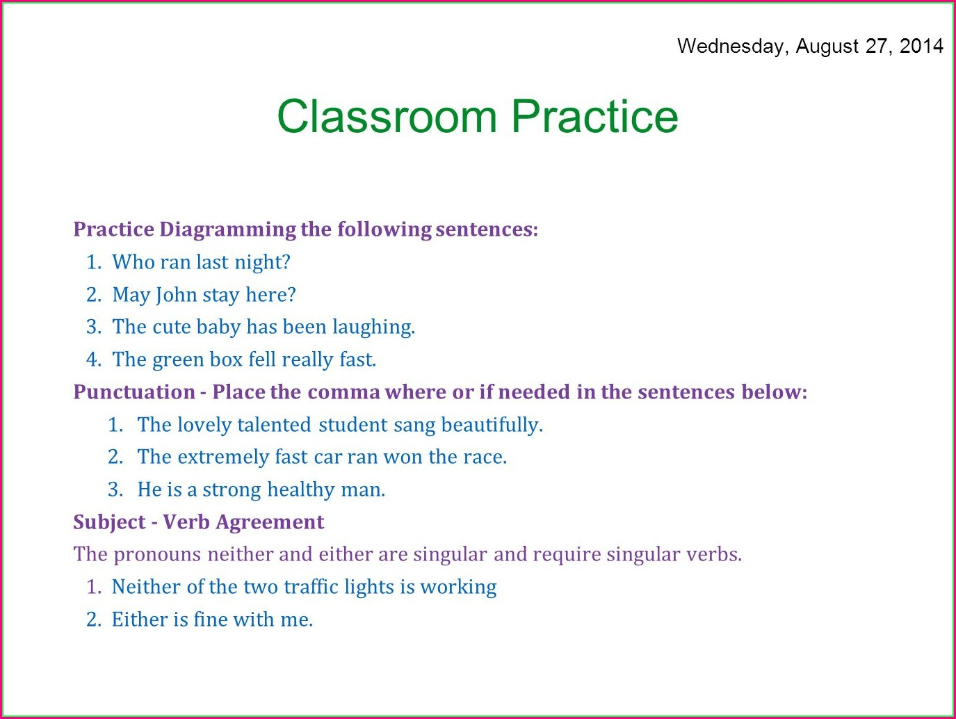 hight resolution of Diagramming Sentences Worksheets   Printable Worksheets and Activities for  Teachers