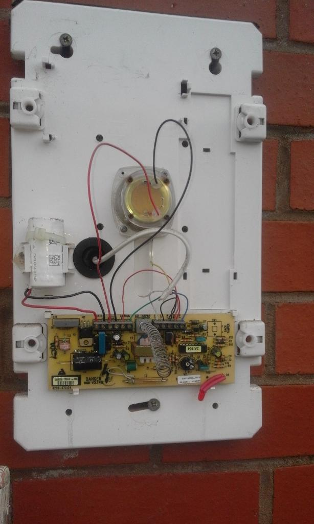 Wiring Texecom Bell Box