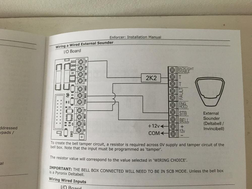 Wiring Diagram For Ids Alarm