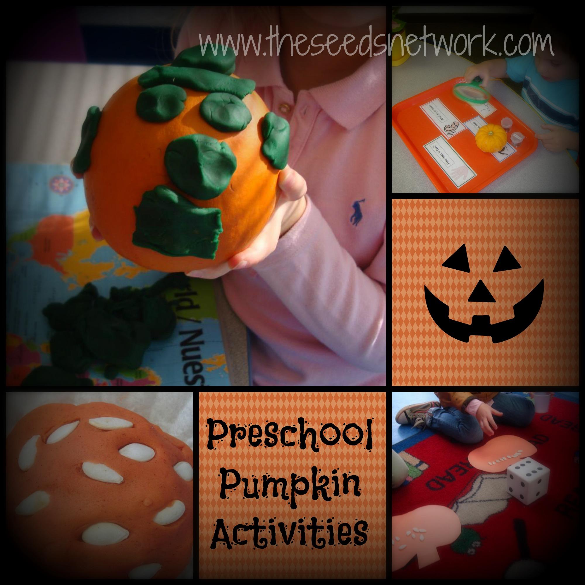 More Pumpkin Activities In Preschool