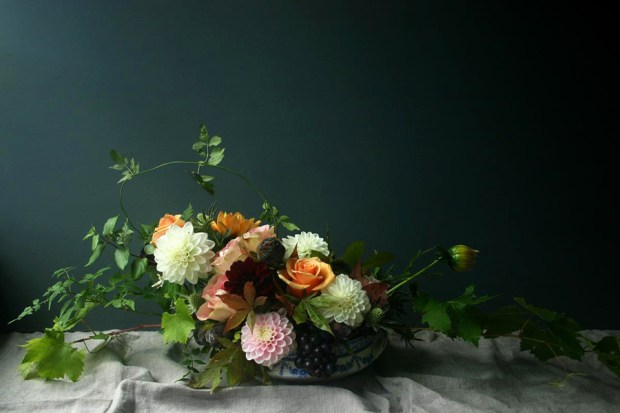 Bristol-based florist Ruby & The Wolf | These Four Walls blog