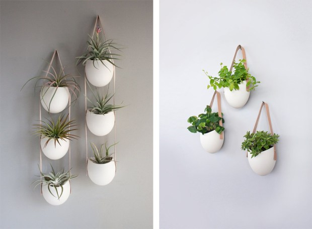 Hanging planers from Light + Ladder | These Four Walls blog