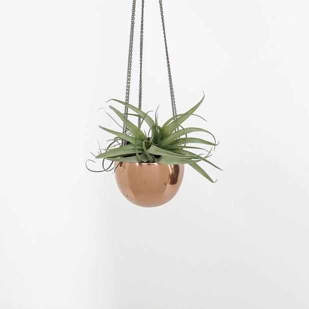 Hanging planter by Ohalbatross | These Four Walls blog