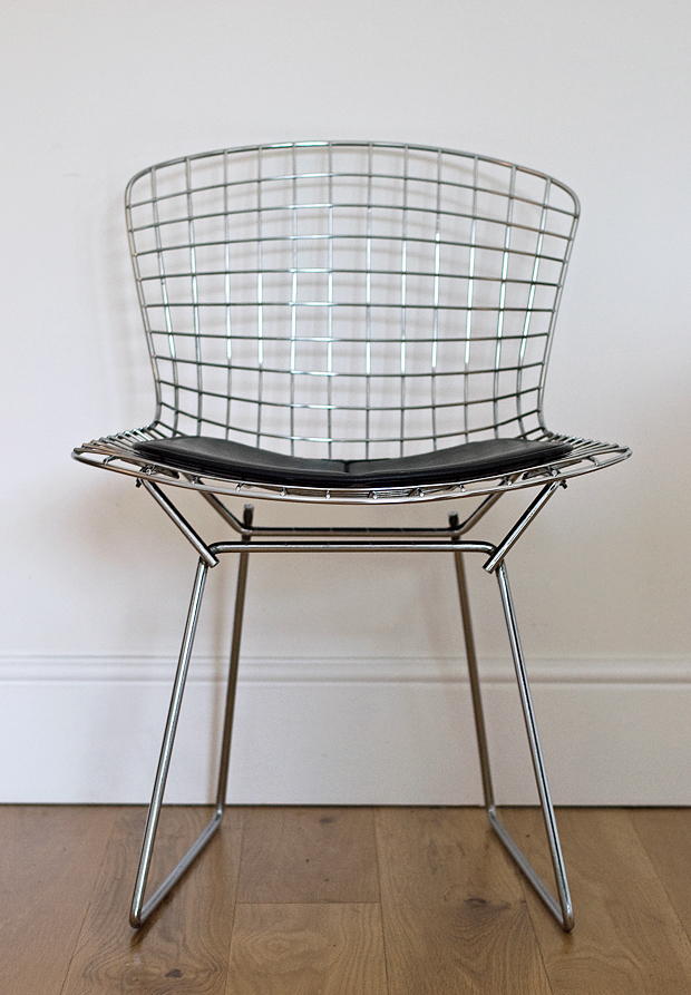 Bertoia chair | These Four Walls blog