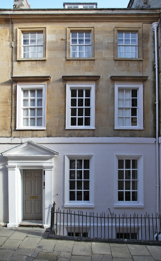 A beautifully renovated Bath townhouse | These Four Walls blog