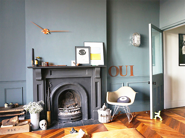 Home tour | Shades of grey in Bristol | These Four Walls blog