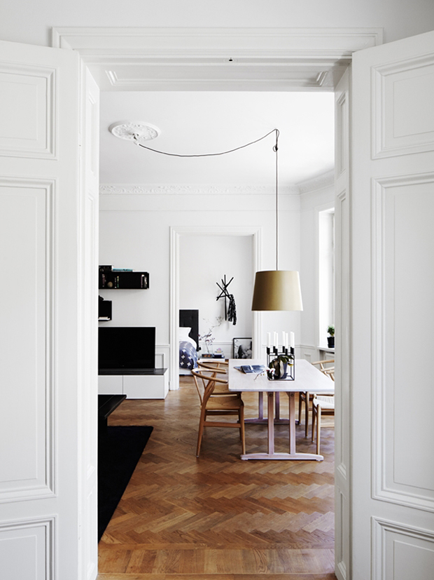Scandinavian dining room inspiration | These Four Walls blog