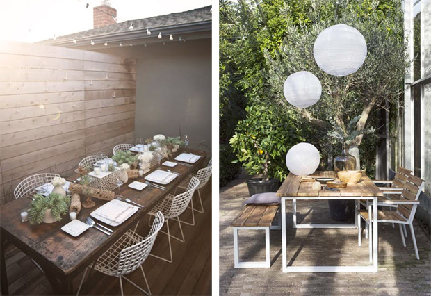 Outdoor living inspiration | These Four Walls blog