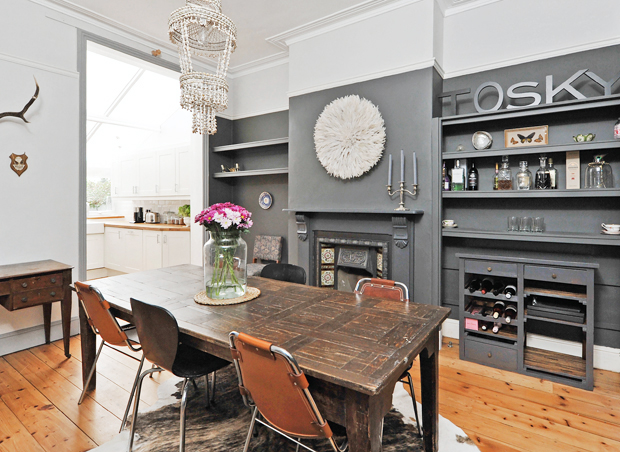 Home tour | A dark, dramatic house in Bristol | These Four Walls blog