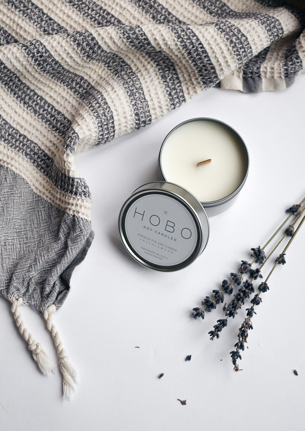 Giveaway | Hobo Soy Candles  | These Four Walls blog