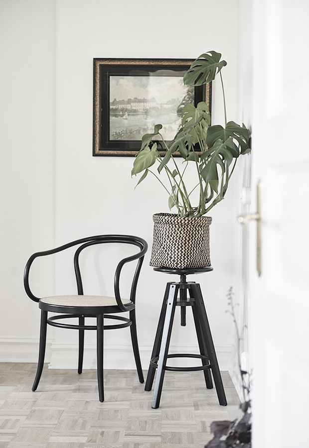 Home tour | A monochrome Swedish apartment | These Four Walls blog