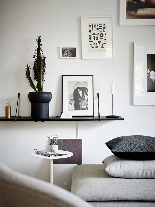 Home tour | A small Swedish space | These Four Walls blog