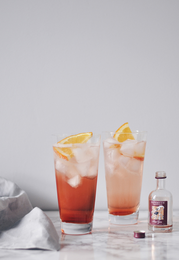 Winter gin cocktail ideas | These Four Walls blog