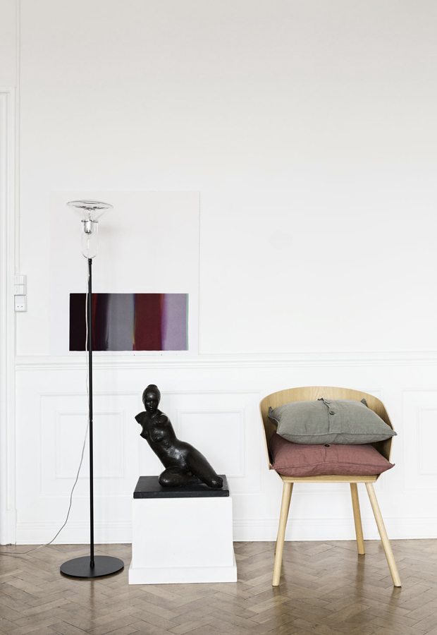 Home tour   An art-filled Danish apartment   These Four Walls blog