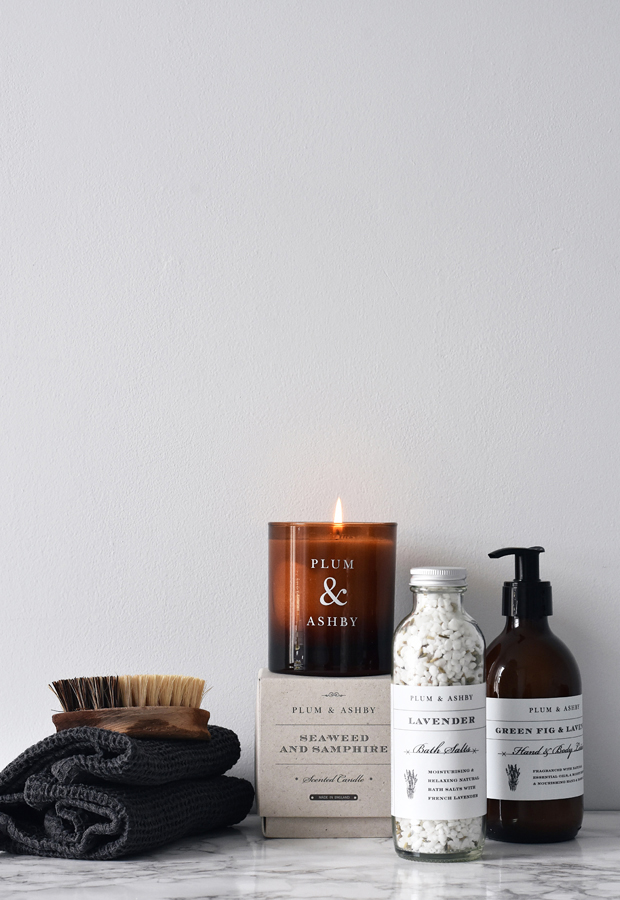 Weekend pampering with Plum & Ashby | These Four Walls blog
